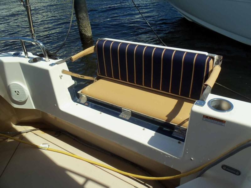 Port & Starboard Aft Deck Seats