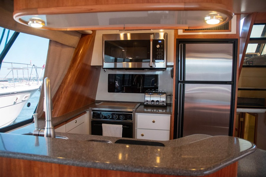 Full Galley to Port