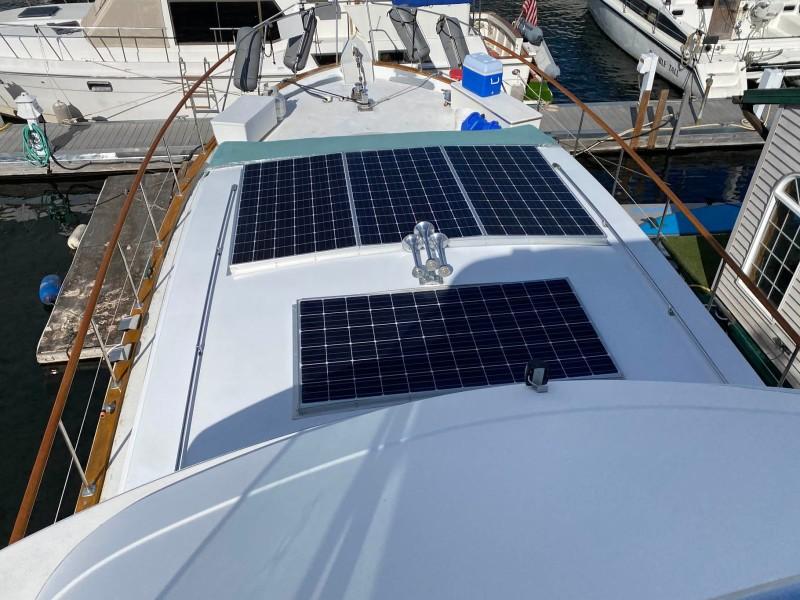 Solar Panels Bow View
