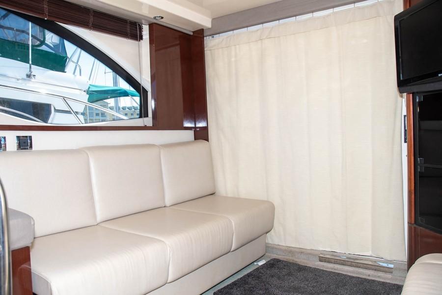 Salon -UltraLeather Sofa to Starboard