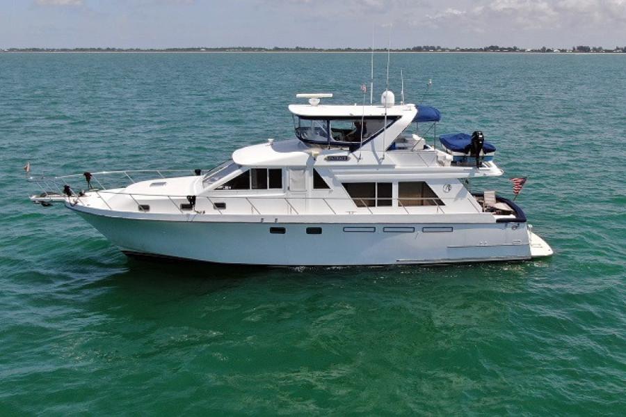 Ocean Alexander-548 1996-Patriot Punta Gorda-Florida-United States-55 Ocean Alexander port profile-1682976-featured