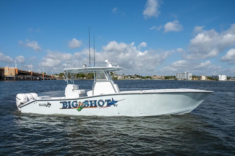 Billfish 39 - Big Shot - Exterior Profile