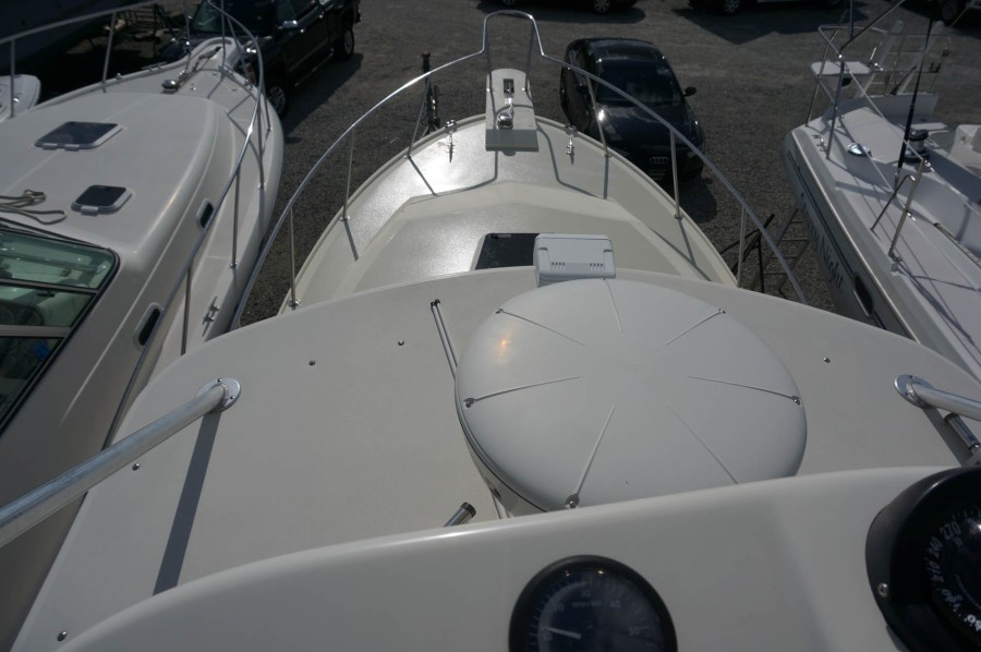 Aerial View of Foredeck