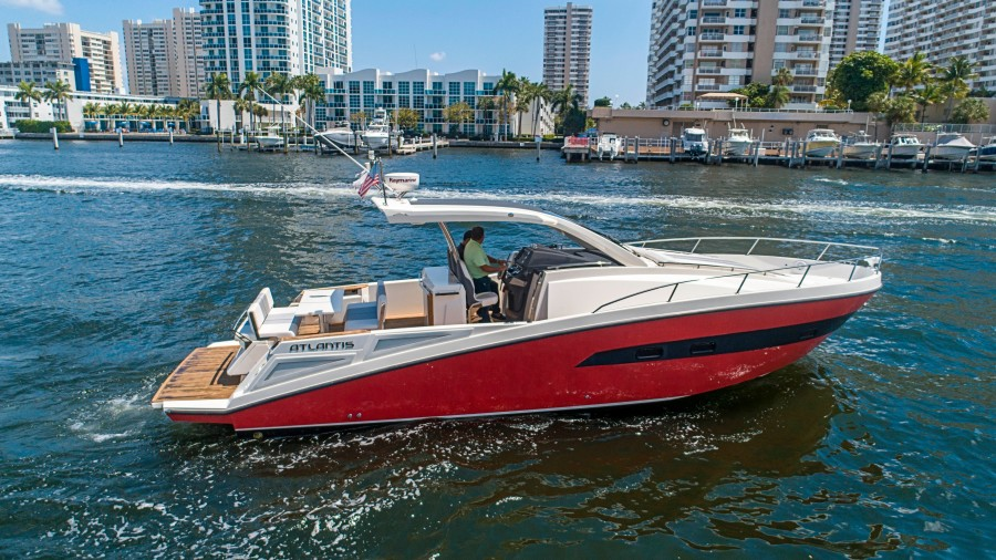 Azimut 36 - Veloce - Starboard Profile