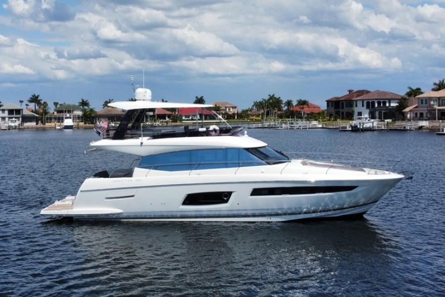 Prestige-560 Flybridge 2017-Nauti Girl II Santa Rosa Beach-Florida-United States-2017 Prestige 560 FB  Profile-1696571-featured