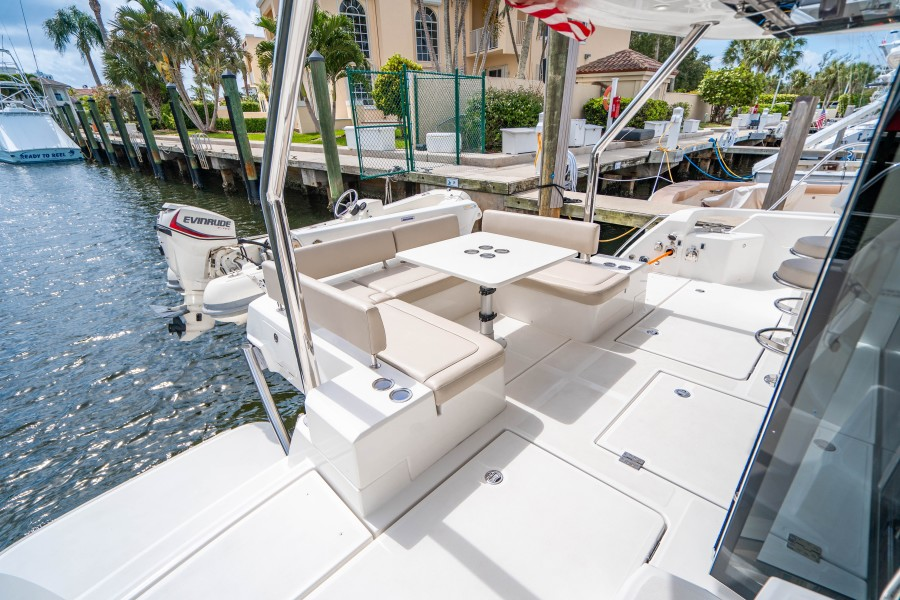 Aquila 44 - Points South II - Aft Seating