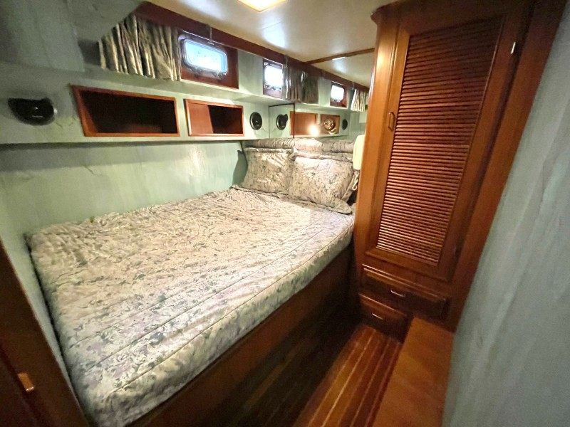 Aft stbd guest cabin