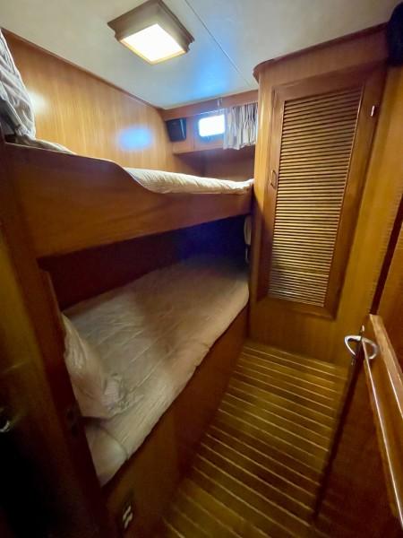 Aft port guest cabin