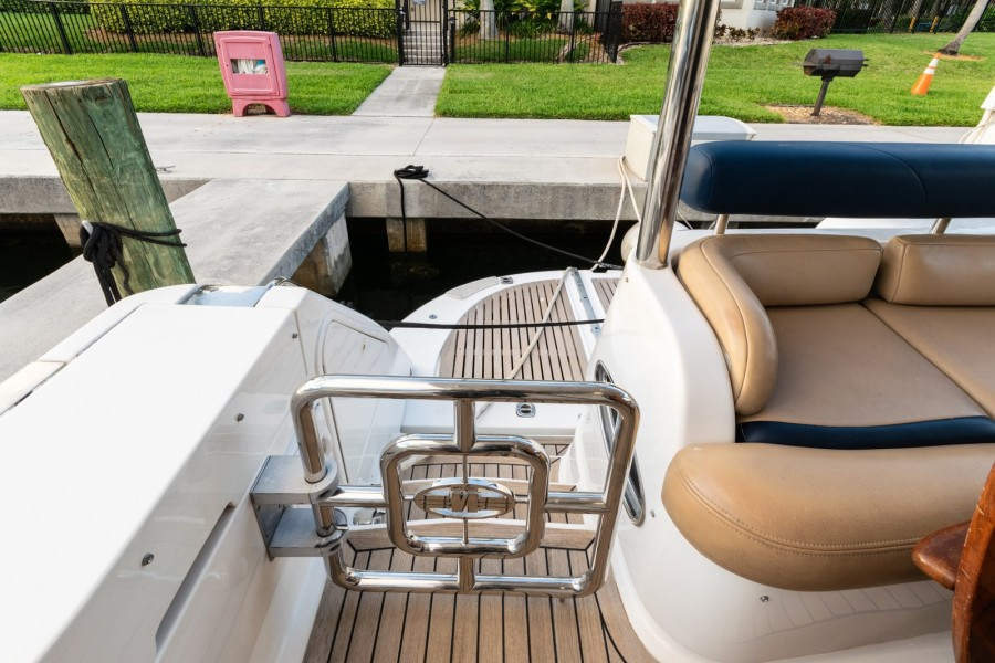 Starboard Transom Gate
