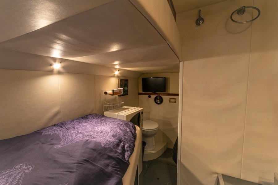 Crew Cabin Looking To Starboard