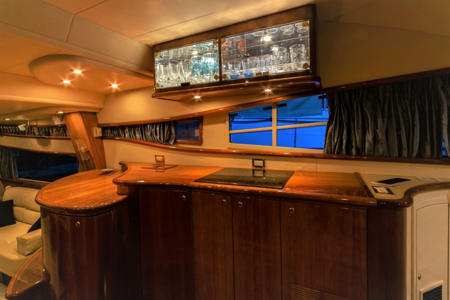 Portside Of Galley