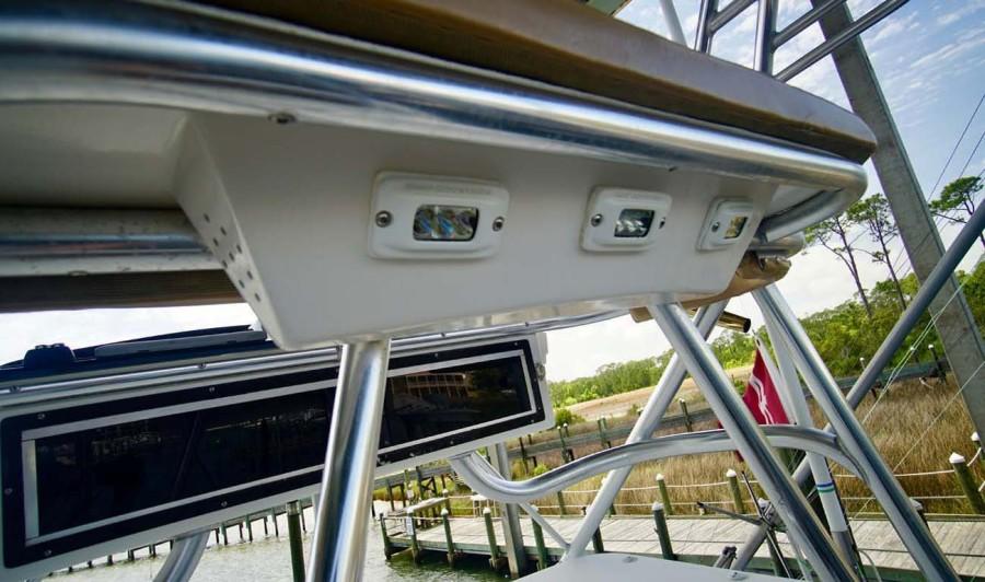 Overhead Electronics and Spotlights