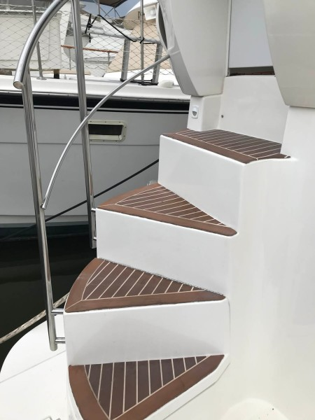 Stairs to Aft Deck