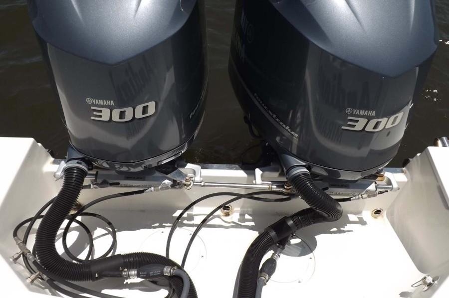 Twin 300 Yamahas
