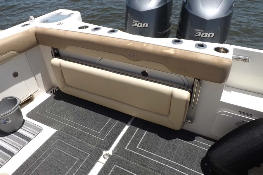 Fold Down Aft Seating