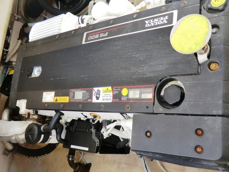 2008 3900 Tiara Sovran STB Engine