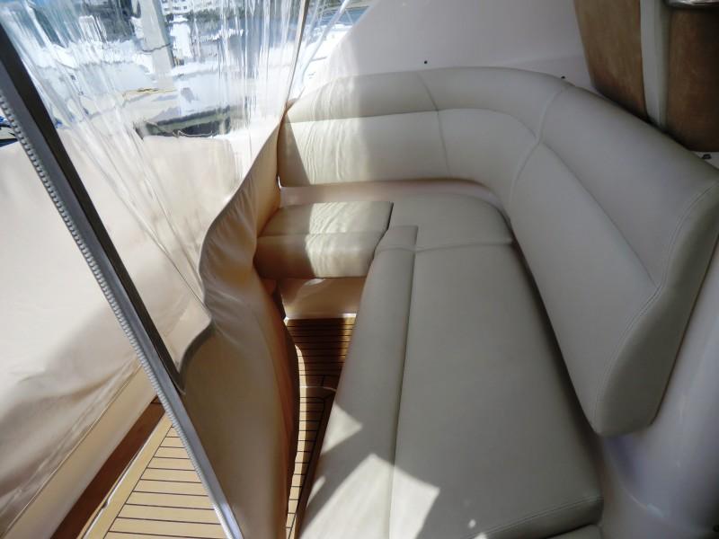 2008 3900 Tiara Sovran Lower Cockpit Aft Facing Seat