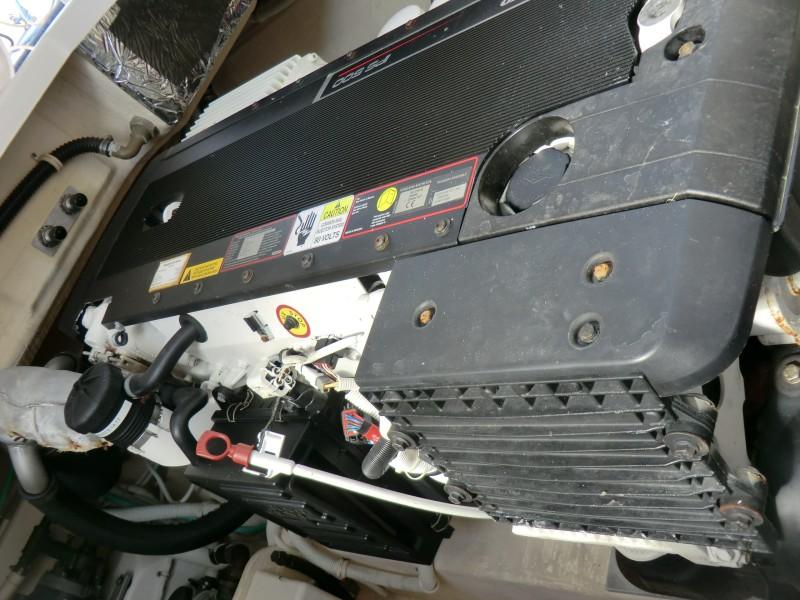 2008 3900 Tiara Sovran Port Engine