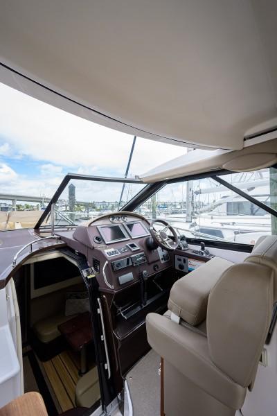 Regal 42 - Persistence Pays - Bridge Deck Helm