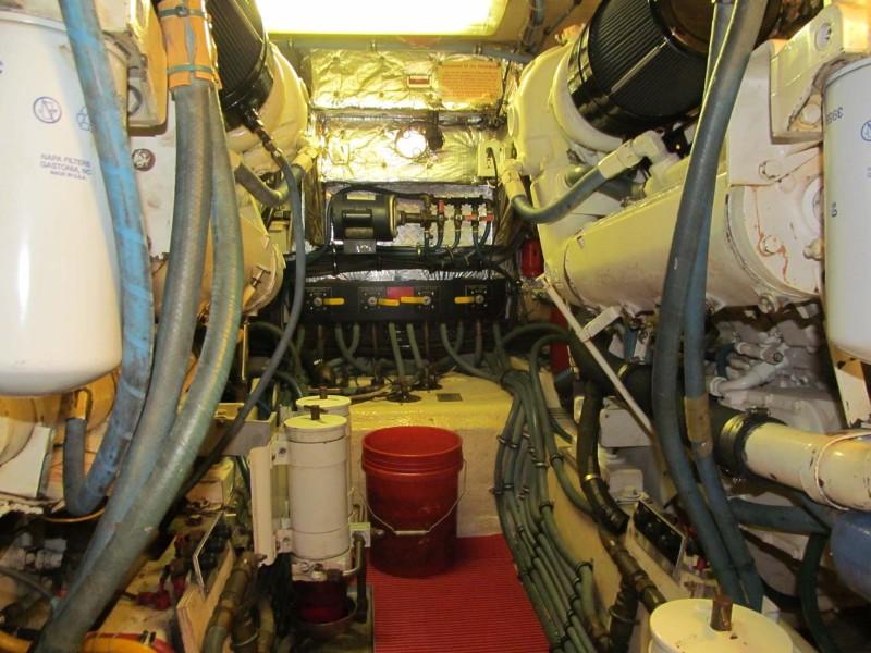 Engine Room Fuel Management Forward