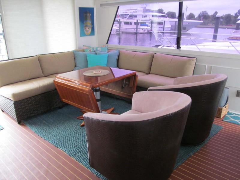 Aft Deck Seating