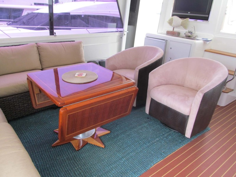 Aft Deck Chairs
