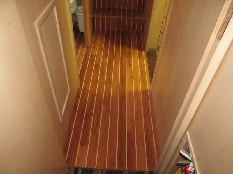 Beautiful Teak Flooring