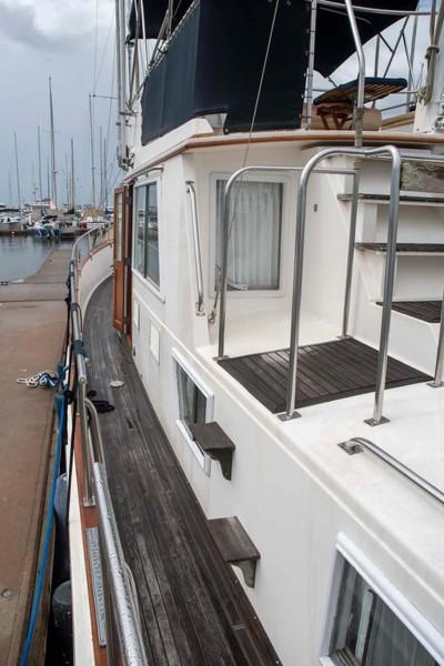 Port Side Deck Aft