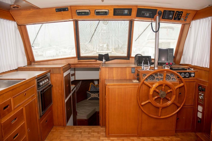 Galley to Port and Helm to Starboard