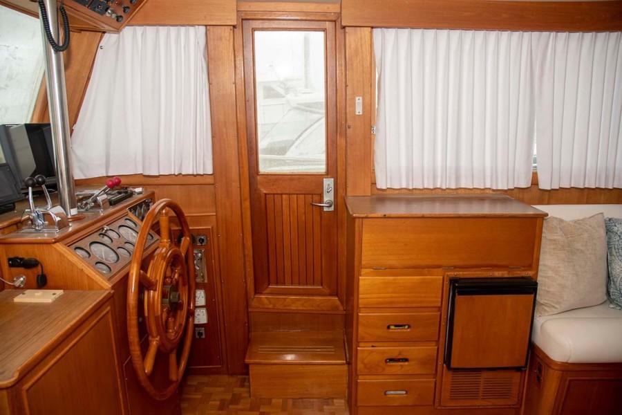 Door to Starboard Side Deck