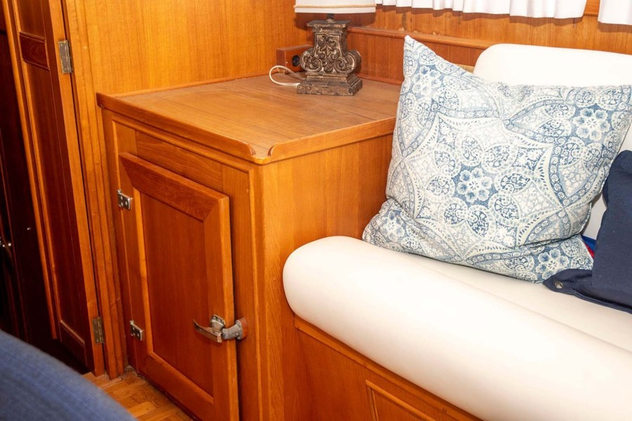 Settee and Storage Cabinet