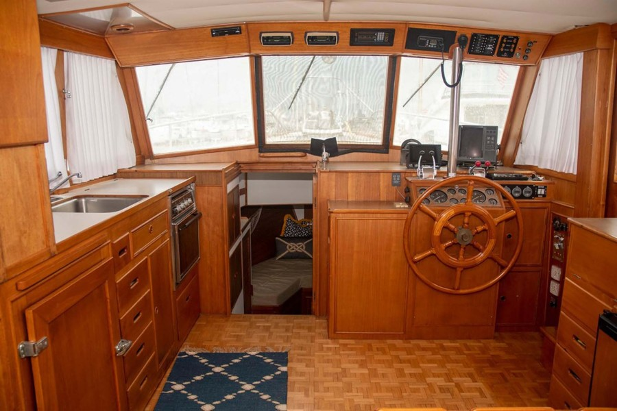 Galley and Lower Helm