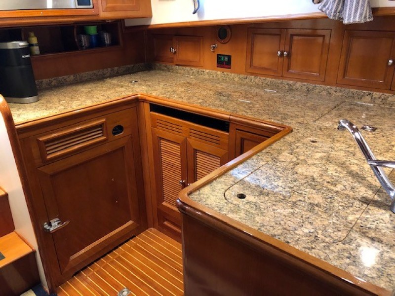 43 Grand Banks Galley