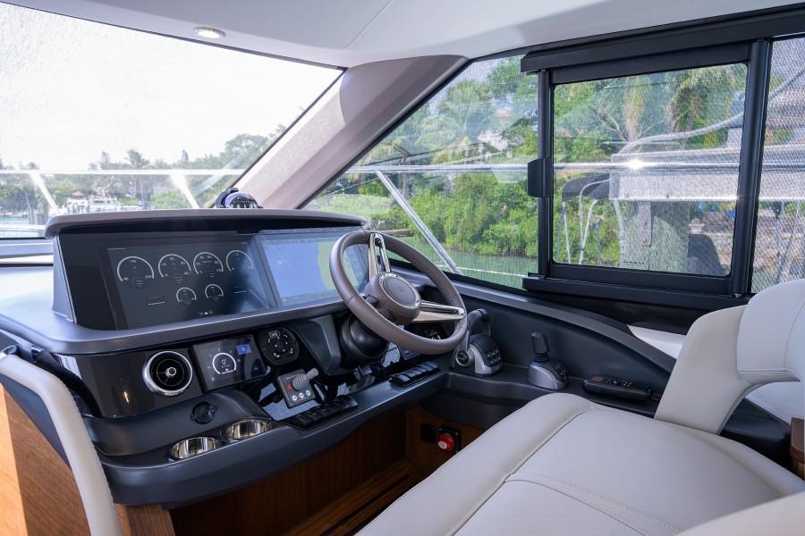 Princess Yachts - Take A Break - Lower Helm