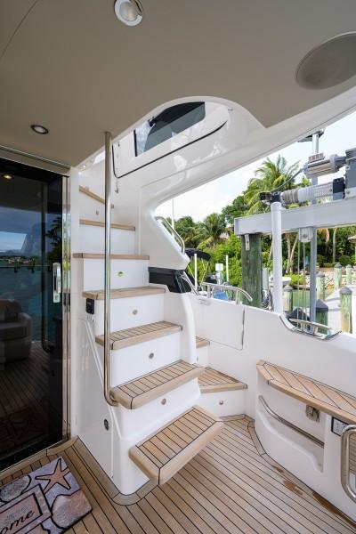 Princess Yachts - Take A Break - Cockpit