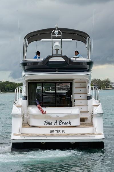 Princess Yachts - Take A Break - Aft