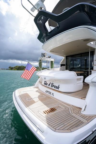 Princess Yachts - Take A Break - Transom