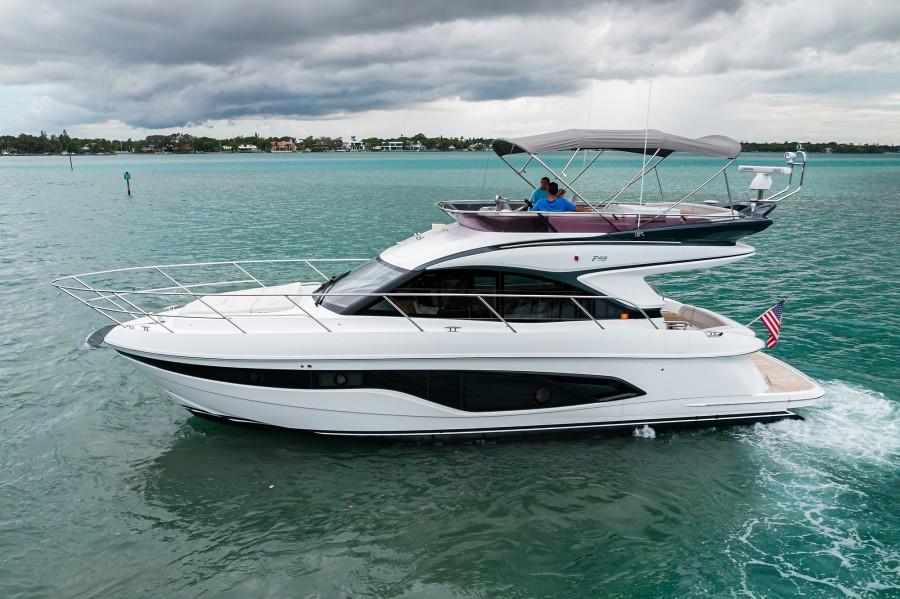 Princess Yachts - Take A Break - Exterior Profile