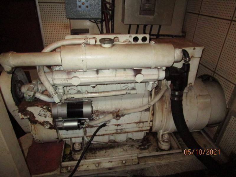 49' Grand Banks forward generator