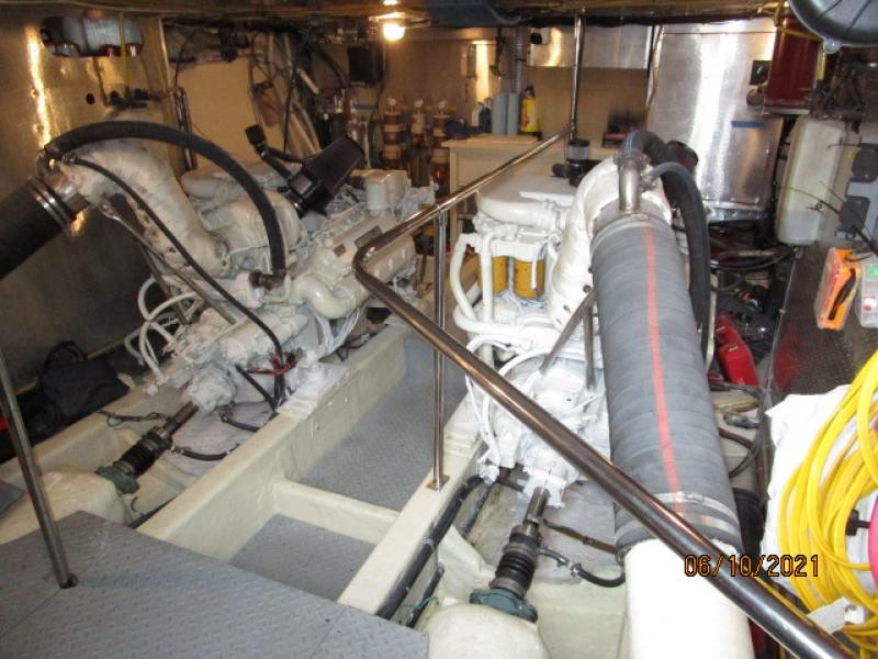 55' Symbol engine room forward
