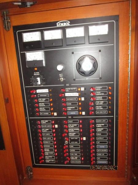 55' Symbol electrical panel