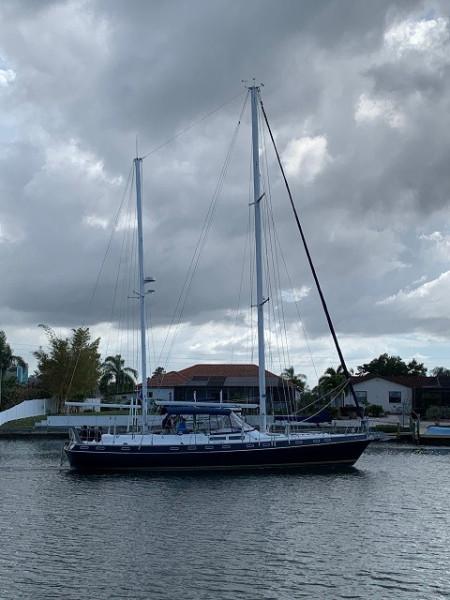 51' Morgan starboard profile2