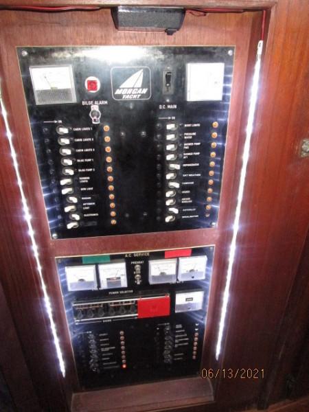 51' Morgan electrical panel