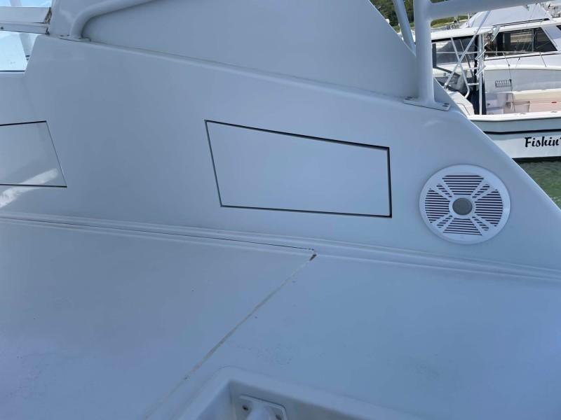 Flybridge Starboard Speaker