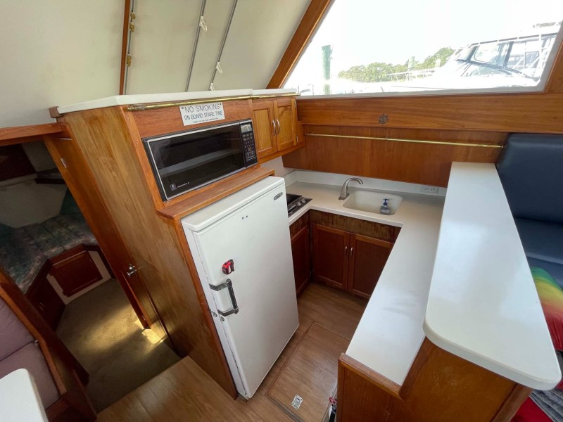 Galley to Starboard