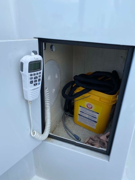 Icom VHF and Storage Cabinet