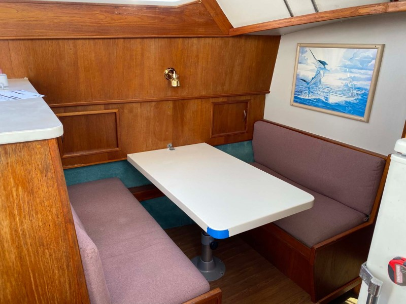 Convertible Dinette with Storage Below