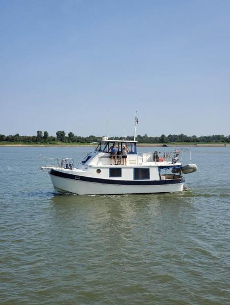 36' Kadey-Krogen port profile