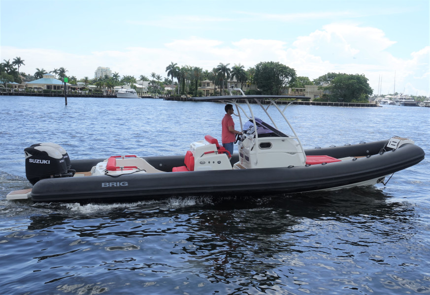 Photo of 33' Brig Inflatables Eagle 10 2018