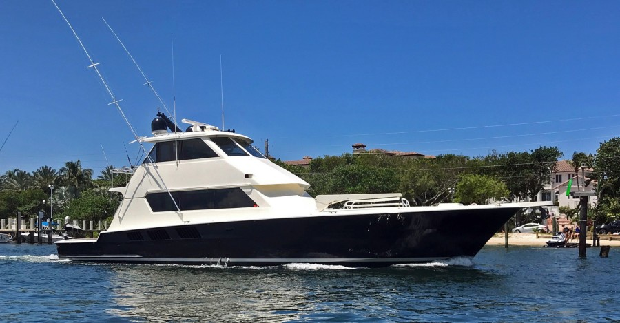 Photo of 65' Hatteras Convertible 1989